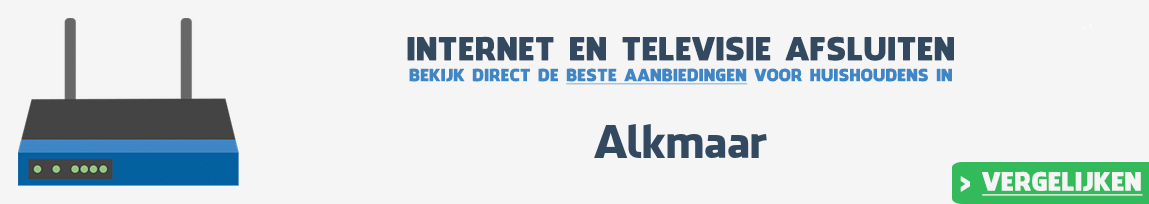 Internet provider Alkmaar vergelijken