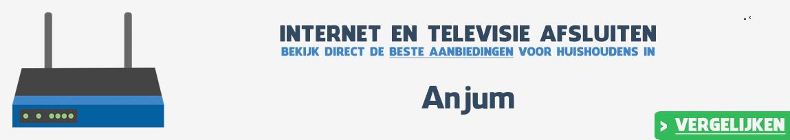 Internet provider Anjum vergelijken