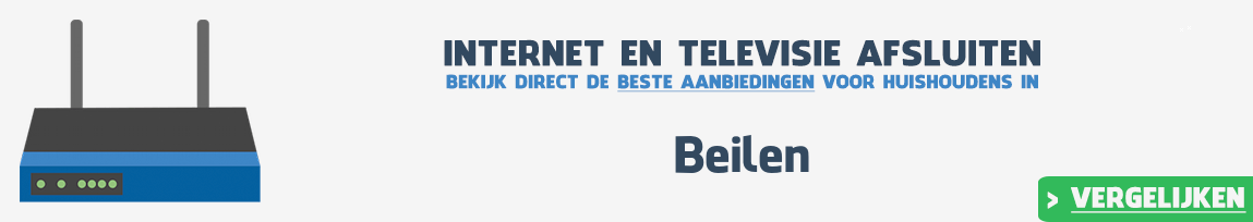 Internet provider Beilen vergelijken