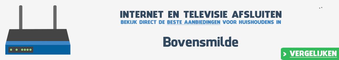 Internet provider Bovensmilde vergelijken