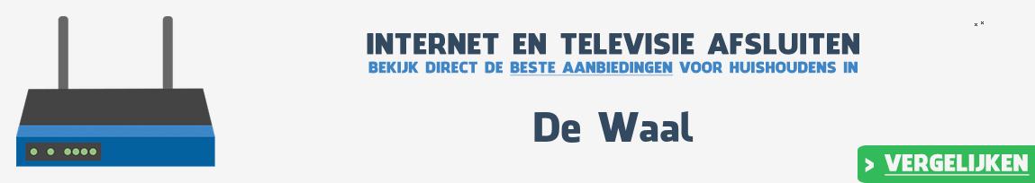 Internet provider De Waal vergelijken