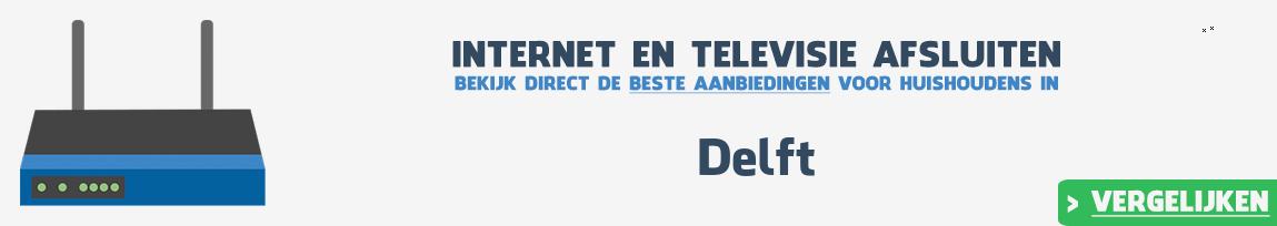 Internet provider Delft vergelijken