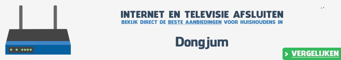 Internet provider Dongjum vergelijken