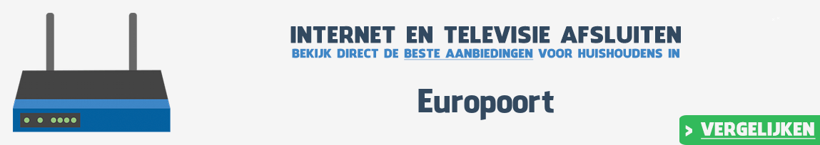 Internet provider Europoort vergelijken
