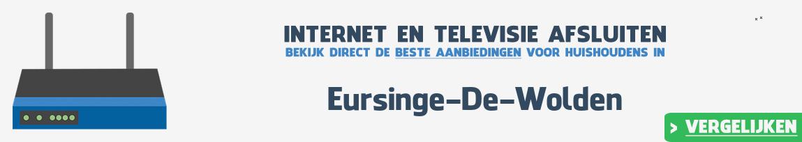 Internet provider Eursinge-De-Wolden vergelijken