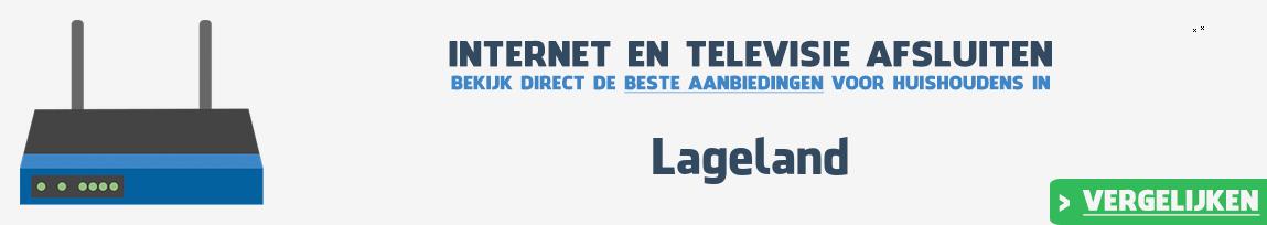 Internet provider Lageland vergelijken