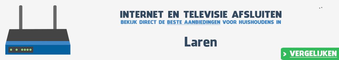 Internet provider Laren vergelijken