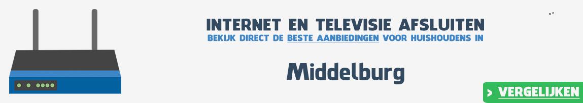 Internet provider Middelburg vergelijken