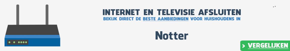Internet provider Notter vergelijken