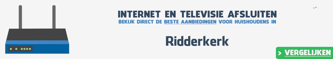 Internet provider Ridderkerk vergelijken