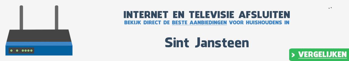 Internet provider Sint Jansteen vergelijken