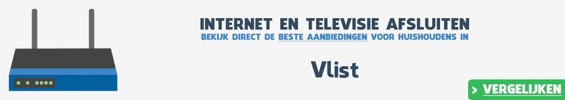 Internet provider Vlist vergelijken